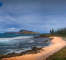 Norfolk Island: View To Pt Hunter by DavidMelville