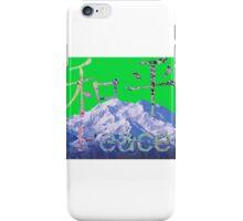 Vapour Mountain iPhone Case/Skin