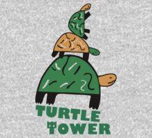 Turtle Tower Kids Tee