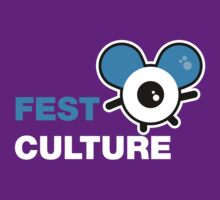 FestCulture Logo Original Blue - Dark by FestCulture