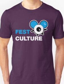 FestCulture Logo Original Blue - Dark T-Shirt