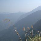 Smoky hills - Jade Mountain by theblackazar
