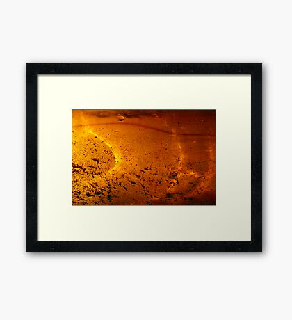 Solar Pond Framed Print