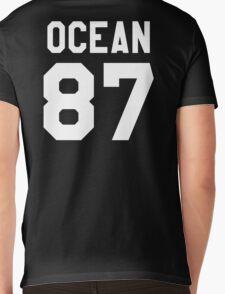 OCEAN 87 Mens V-Neck T-Shirt