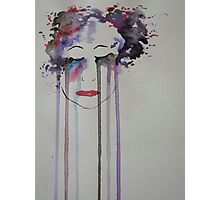 Coloured Tears Photographic Print