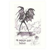 The Dandilion & Burdock Devil Art Print