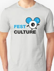 FestCulture Logo Original Blue - Light T-Shirt