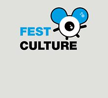 FestCulture Logo Original Blue - Light Unisex T-Shirt