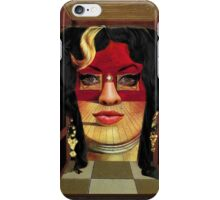 Amy Winehouse as Portrait of Mae West by Salvador Dalí iPhone Case/Skin
