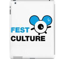 FestCulture Logo Original Blue - Light iPad Case/Skin