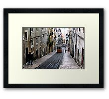 View of an old Lisbon Framed Print