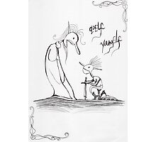 Old Elf Young Elf Photographic Print