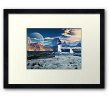Worlds End  Framed Print