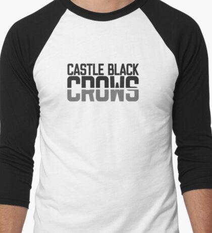 Castle Black Crows Men's Baseball ¾ T-Shirt