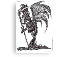 Necronomicon: The Flesh Reaper Canvas Print