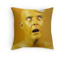 Egghead Throw Pillow