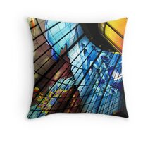 underground rainbow - kaohsiung Throw Pillow