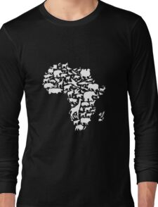 Animals of Africa Long Sleeve T-Shirt