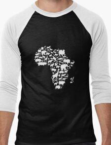 Animals of Africa Men's Baseball ¾ T-Shirt