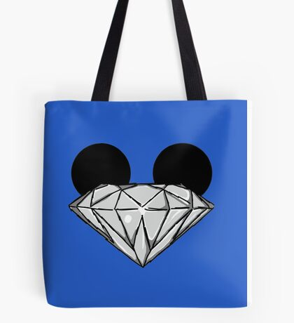 Diamond Ears BW Tote Bag
