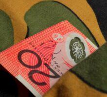 Money Never Sleeps ? Sticker