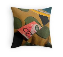 Money Never Sleeps ? Throw Pillow