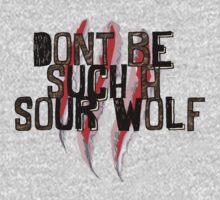 Don't be such a sour wolf by thescudders