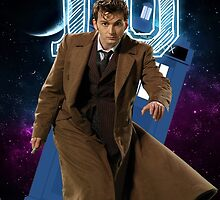 Tenth Doctor - Greeting Card by thescudders
