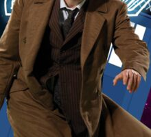 Tenth Doctor - Greeting Card Sticker