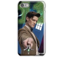 11th Doctor Greeting Card iPhone Case/Skin