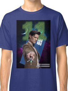 11th Doctor Greeting Card Classic T-Shirt