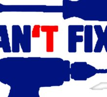 If Grandad Can't Fix It, No One Can! T Shirts, Stickers and Other Gifts Sticker