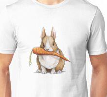 Bunny Eating a Carrot Unisex T-Shirt