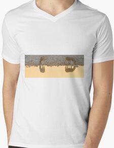On Golden Pond - Etosha NP Namibia Africa Mens V-Neck T-Shirt