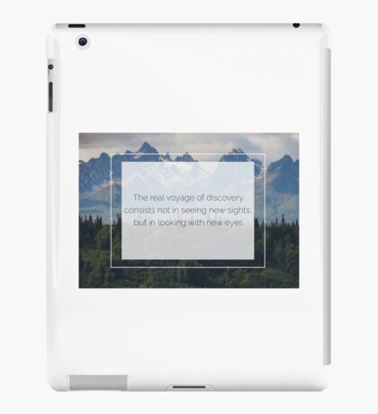 The beauty is in the eyes of the beholder iPad Case/Skin
