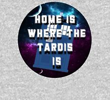 Home Is Where The Tardis Is Long Sleeve T-Shirt
