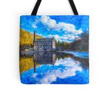 The Old Mill Pond Tote Bag