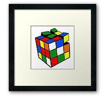 Rubik's Cube Framed Print