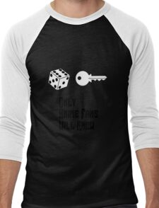 Only Anime Fans Will Know - Dice Key Men's Baseball ¾ T-Shirt