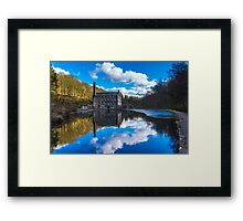 The Old Mill Pond Framed Print