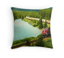 Canadian Pacific Railway Throw Pillow