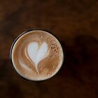 coffee heart by Skye Hohmann