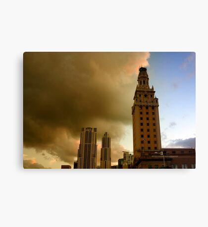 Scenes from Miami VIII Canvas Print