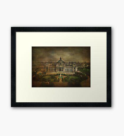 Reichstag...... Framed Print
