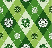 Spring in Dublin (Celtic Argyle) by PrivateVices