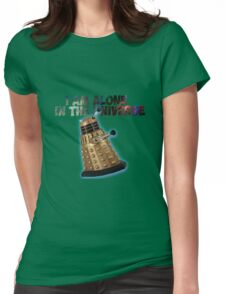 I am alone in the Universe  Womens Fitted T-Shirt