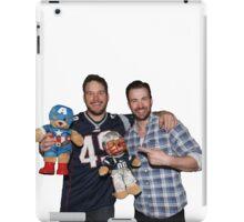 Chris Pratt & Chris Evans  iPad Case/Skin
