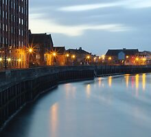 Morning on The Riverside in Gainsborough by Jason M Rogers