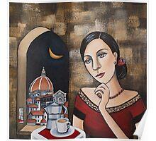 Cafe Italia Poster