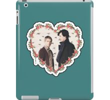 HEARTED JOHNLOCK iPad Case/Skin